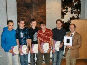 NNO 2004, ronde 2, 5 winnaars