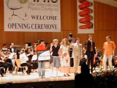 NNO 2005, openingsceremonie